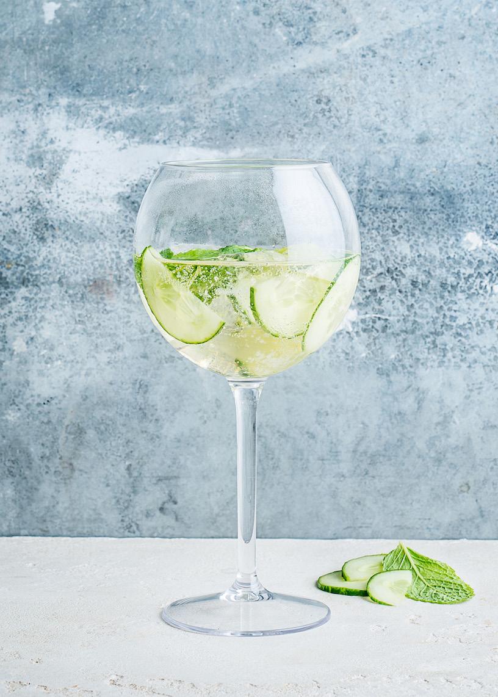 Petite Folie Fraicheur Concombre glass
