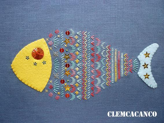 Broderies Clemcacando / Brin par brin