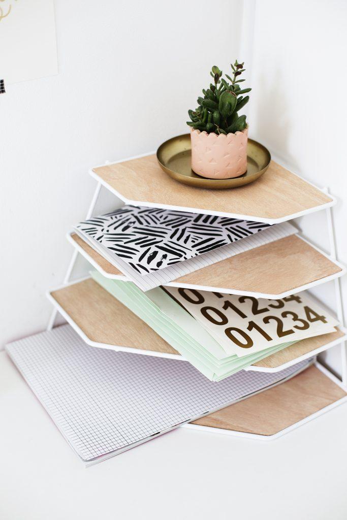 DIY-balsa-wood-desk-tidy-tutorial-workspace-tidy-up-easy-craft-ideas