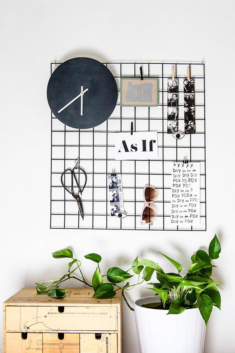 diy-metal-wall-grid