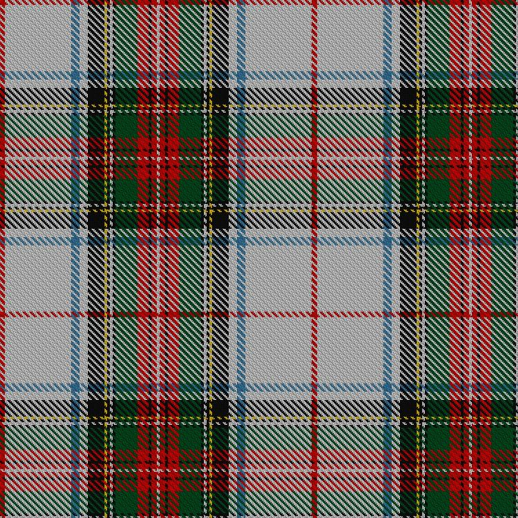 James Grant took all of the seventy two tartans in his book, 'Tartans of the Clans of Scotland', published in 1886 by W & A.K.Johnston, from actual specimens in use at the time. Many are identical to those found in the earlier work of W and A.Smith in 1850. The Victoria sett was known to have been favourably regarded by the Queen.