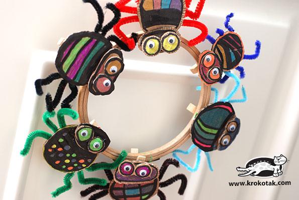 cardboard-spiders-krokotak