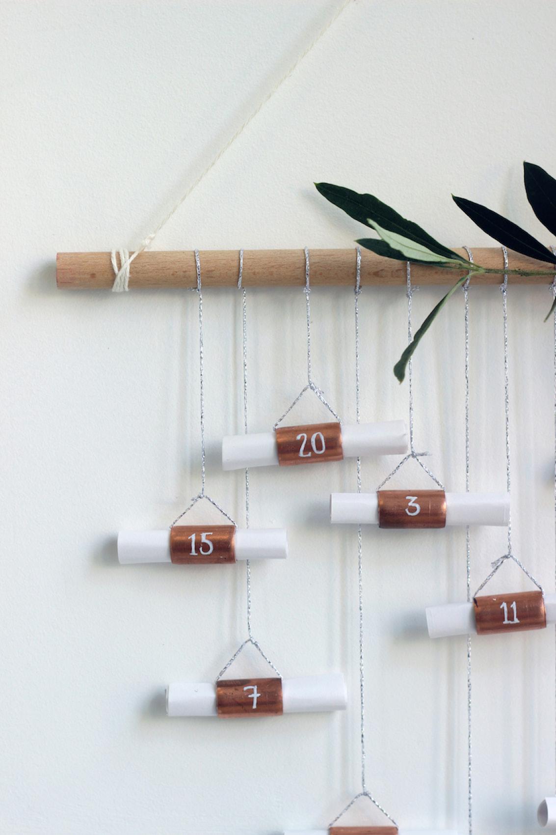 calendrier de l'avent © growing spaces