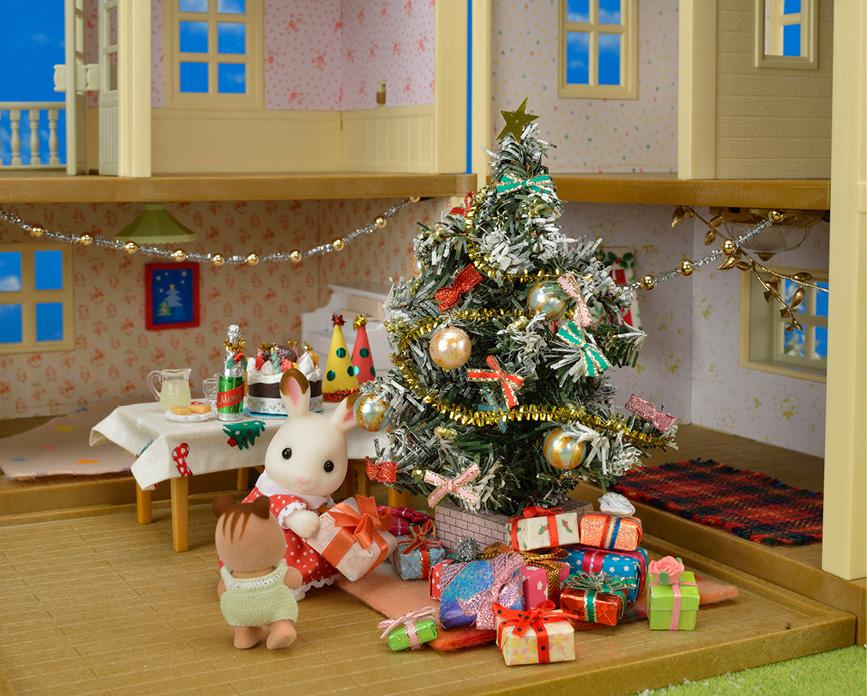 christmas-sylvanian-families