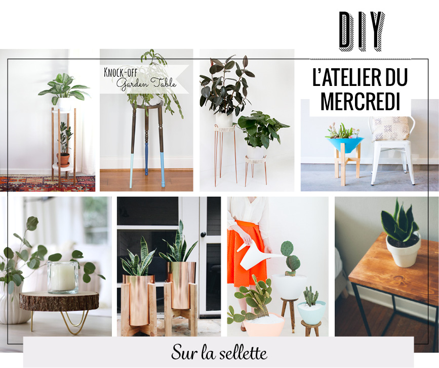 sellette pour plante free piedestal pour plante. Black Bedroom Furniture Sets. Home Design Ideas
