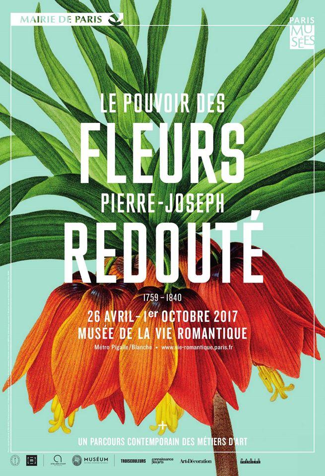 La première rétrospective française consacrée à Pierre-Joseph Redouté au Musée de la Vie Romantique !