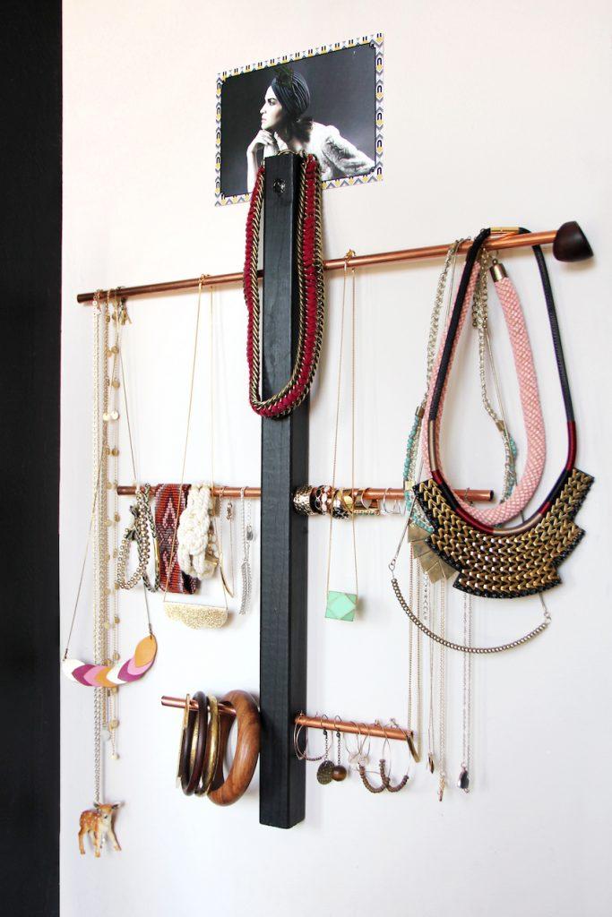 Le porte-bijoux © Fanny Mercier