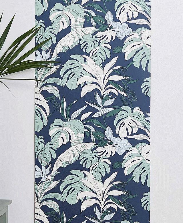 monoprix habille vos murs plumetis magazine. Black Bedroom Furniture Sets. Home Design Ideas