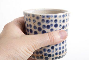 Les céramiques à pois de Polli Pots