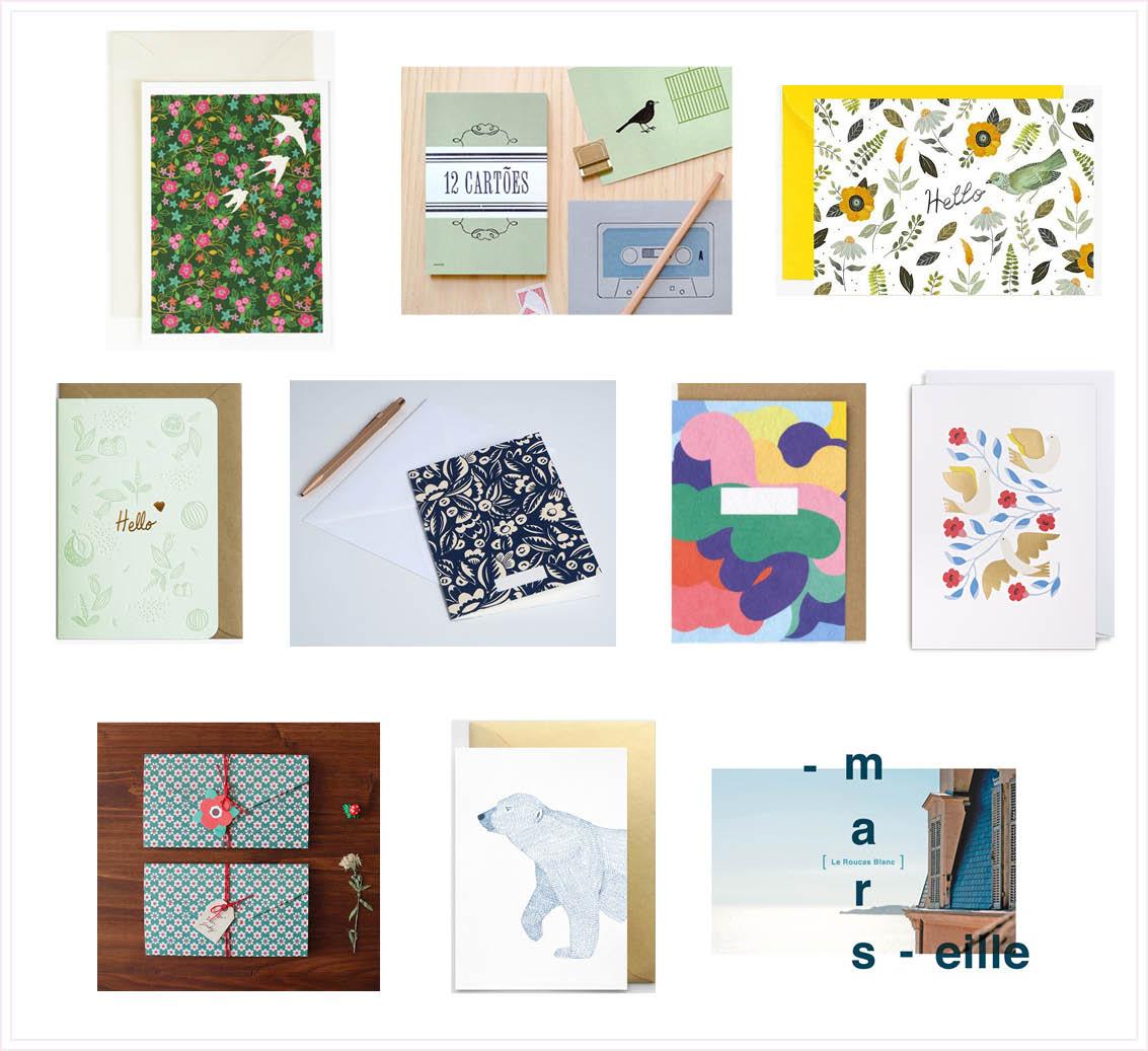 carnet d 39 adresses papeteries o trouver de belles cartes plumetis magazine. Black Bedroom Furniture Sets. Home Design Ideas