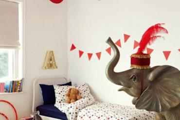 Chambre d'enfant : quel cirque !
