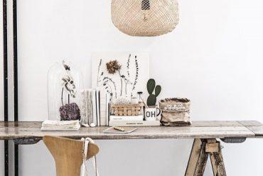 Home Sweet Home : avec des suspensions en fibres végétales