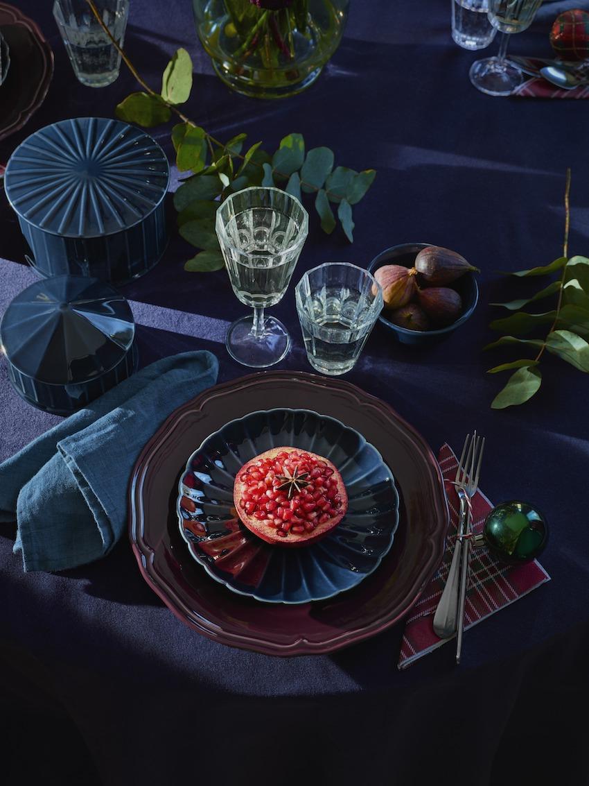 inspiration la table du r veillon plumetis magazine. Black Bedroom Furniture Sets. Home Design Ideas
