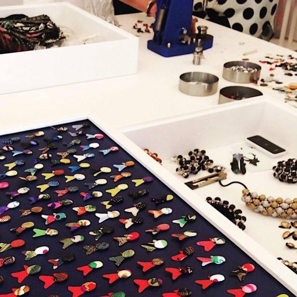 Atelier Aymeric Le Deun • Boutons recouverts