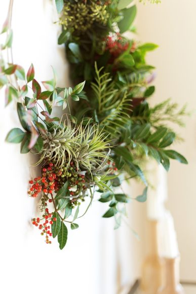 How to Make a Gorgeous Holiday Wreath // Camille Styles