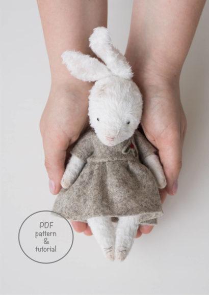 annapavlovna bunny instant download pattern