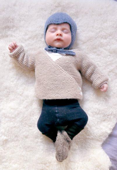 baby cardigan // mme Ulma